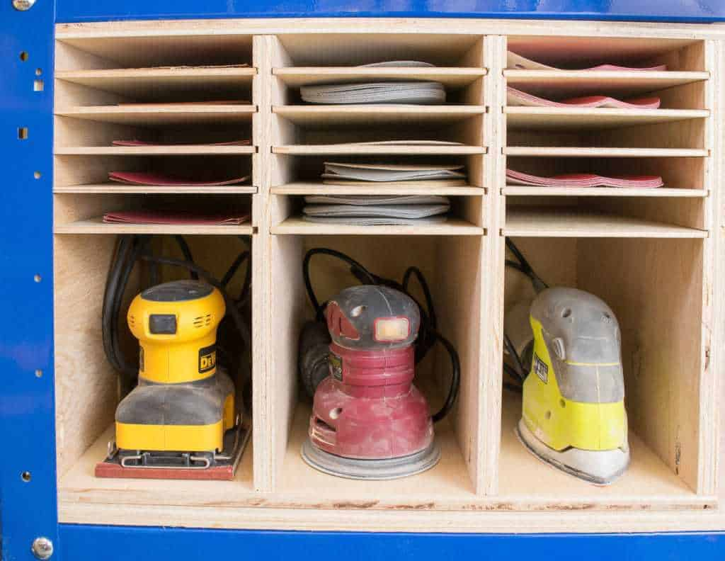 Workshop Wednesday - Sander and Sandpaper Storage - The ...