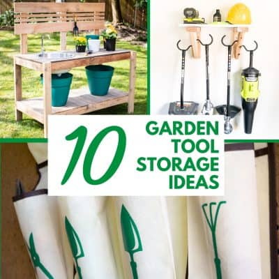 10 garden tool storage ideas