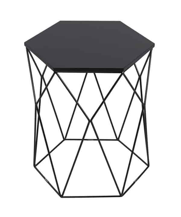 Looking for a hexagon side table but don't want to make your own? Here's a great option!