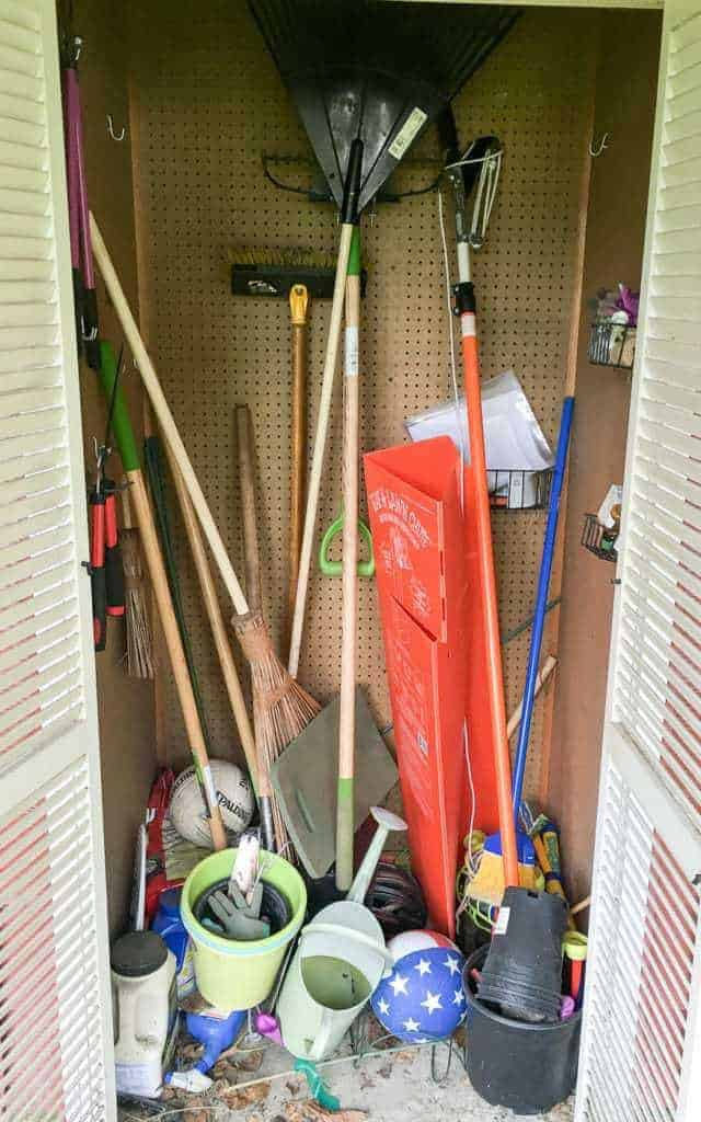 10 Genius Garden Tool Storage Ideas The Handyman S Daughter