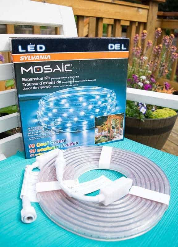 outdoor rope light kit