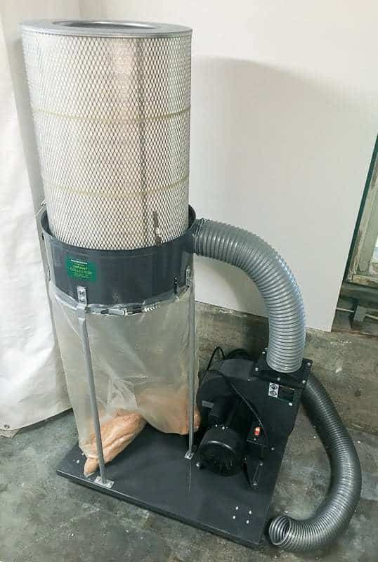 A single-stage dust collector is great, but a two-stage dust collector is better!