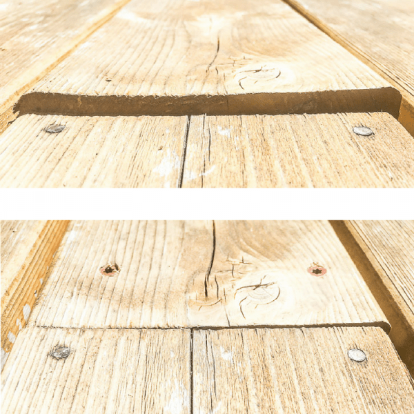 deck repair before and after