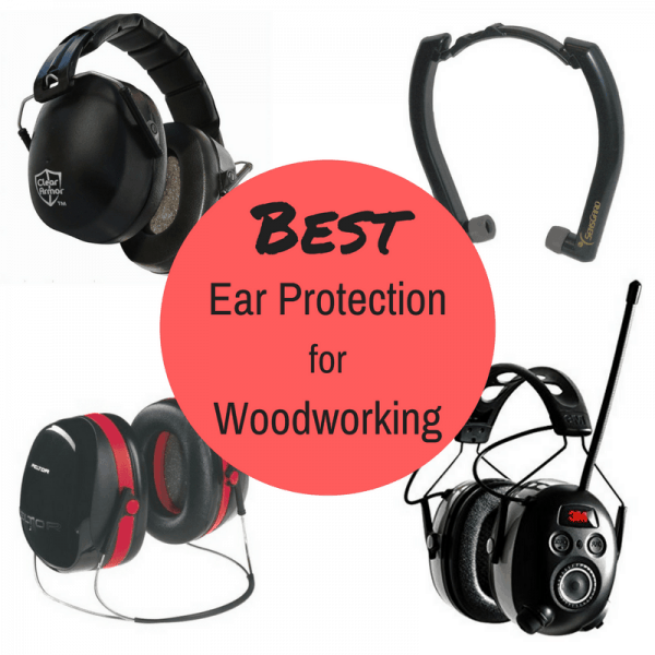 No matter what style you prefer, I've found the best ear protection for you! Don't neglect your hearing when woodworking. Protect it!