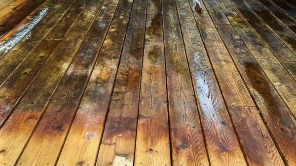 Transform Your Deck With Deck Cleaner And Brightener The