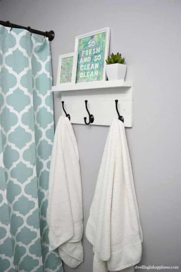 towel hanger ideas. Beautiful Ideas DIY Towel Rack With Shelf With Towel Hanger Ideas I