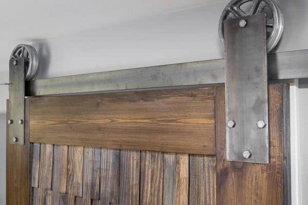 The Sliding Barn Door Hardware Works Perfectly With My New Door.