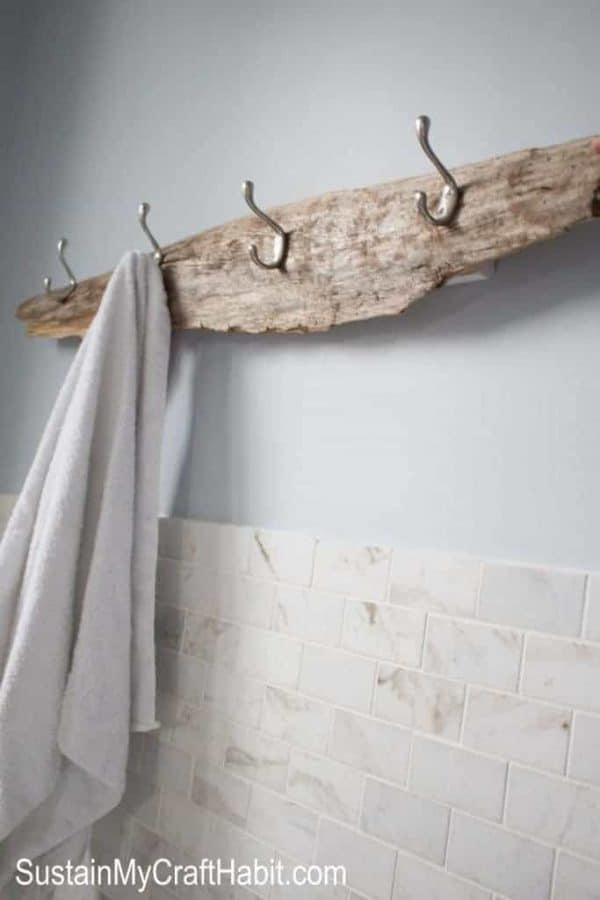 20 Genius Diy Towel Rack Ideas The Handyman S Daughter