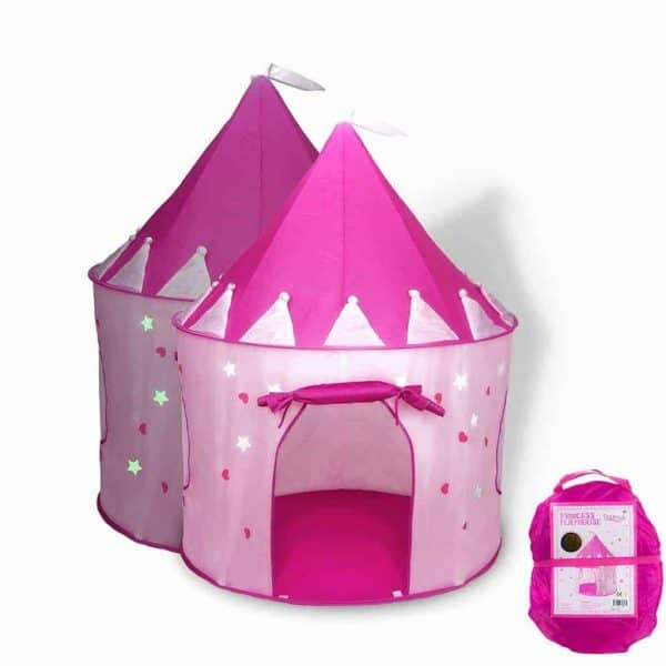 Nothing says woodworking quite like a pretty princess castle tent!