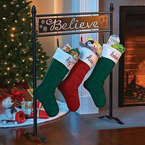 Show your Christmas spirit with these stocking holders!