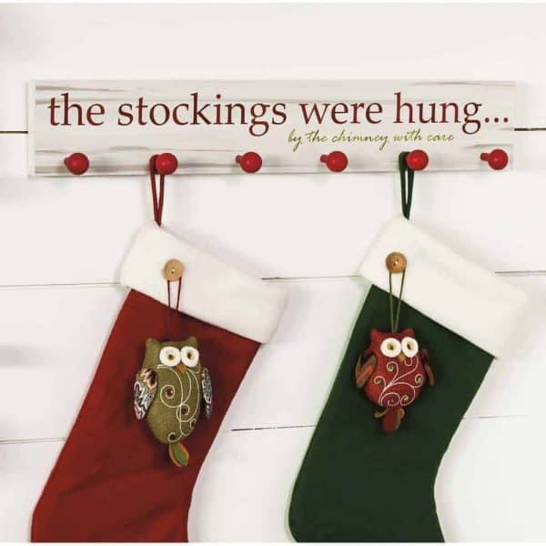 No time to DIY this Christmas? Buy one of these adorable stocking holders online instead!