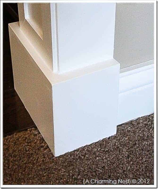 plinth-blocks-around-door-casing - The Handyman's Daughter