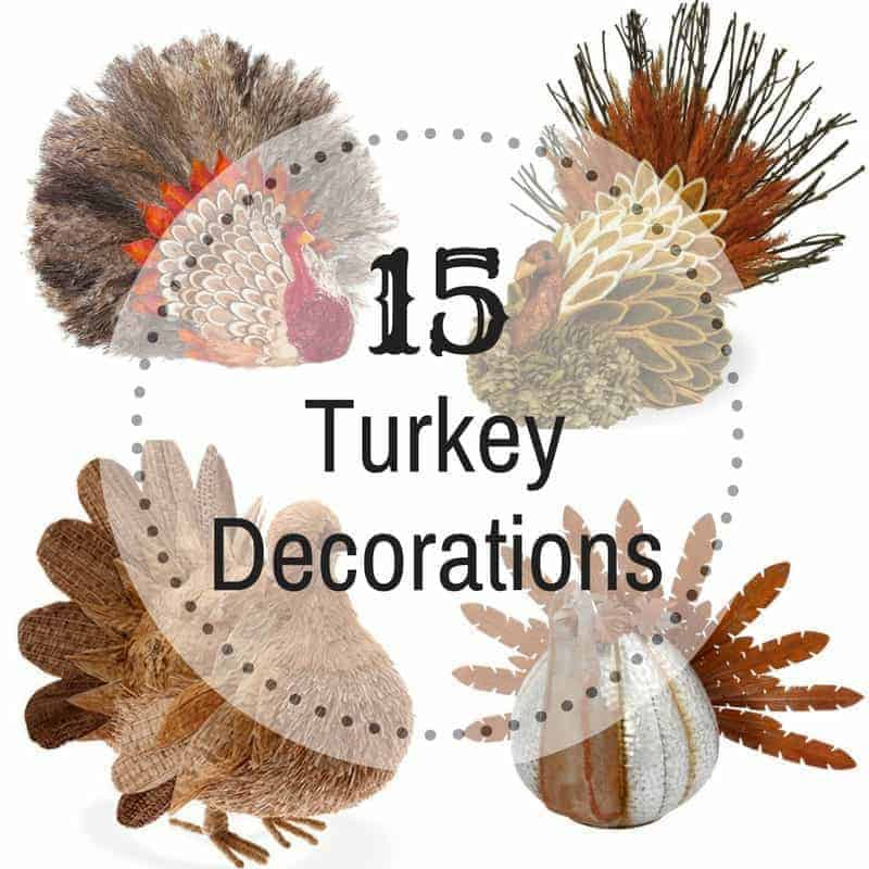 15 Turkey Decorations for Your Thanksgiving Table