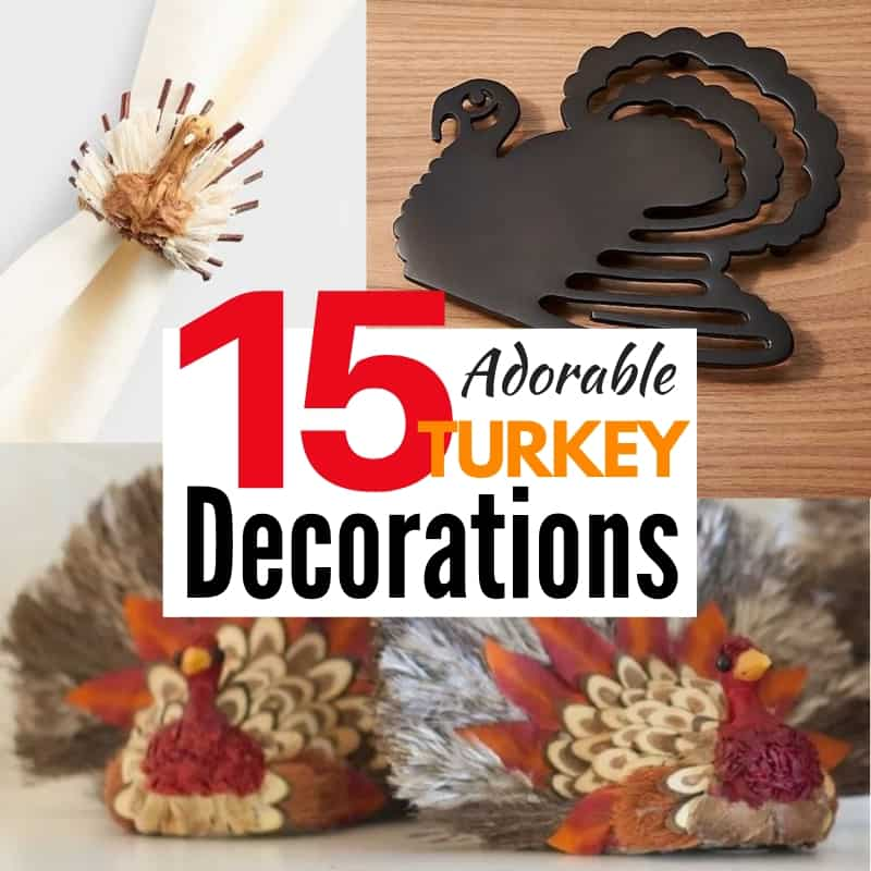 Turkey decorations