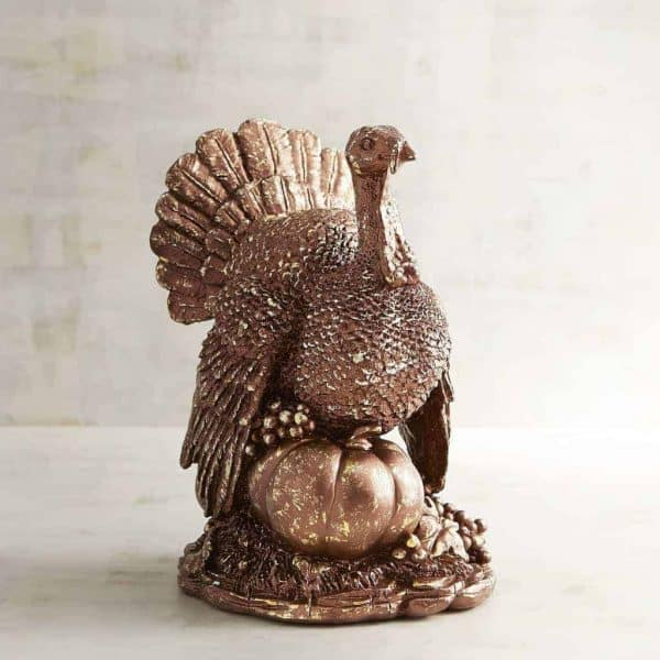 What a glamorous turkey! Add a little bling to your Thanksgiving table!