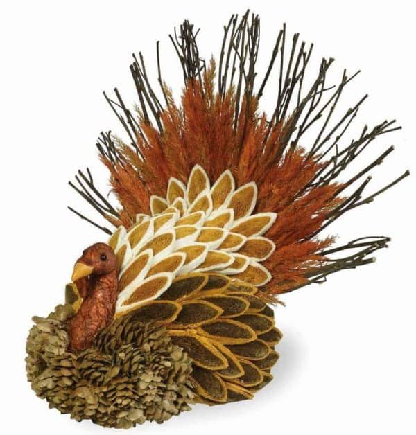 Make a statement on your Thanksgiving table with this tom turkey!