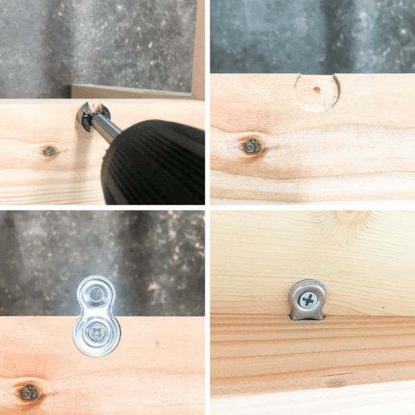 How to Attach Figure 8 Brackets for Table Tops