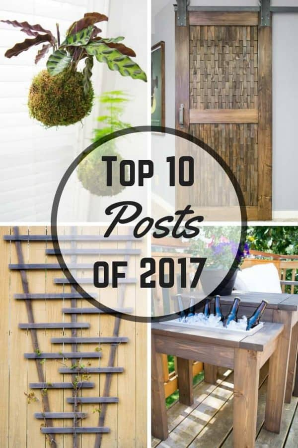 These were the top 10 posts on The Handyman's Daughter this year. Which one is your favorite?