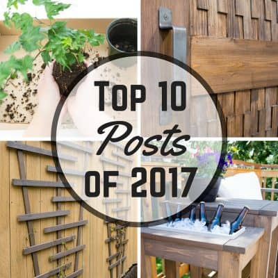 These are the top 10 posts on The Handyman's Daughter this year!