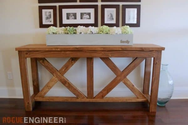 This console table from Rogue Engineer was made for under $40!