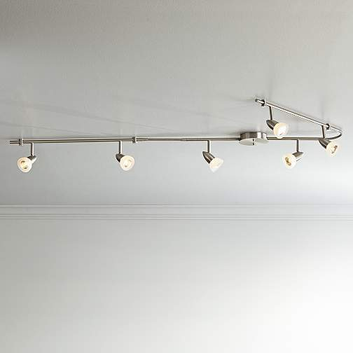 The ProTrack Flex Rave has two flexible arms so you can customize your kitchen track lighting to fit your needs.