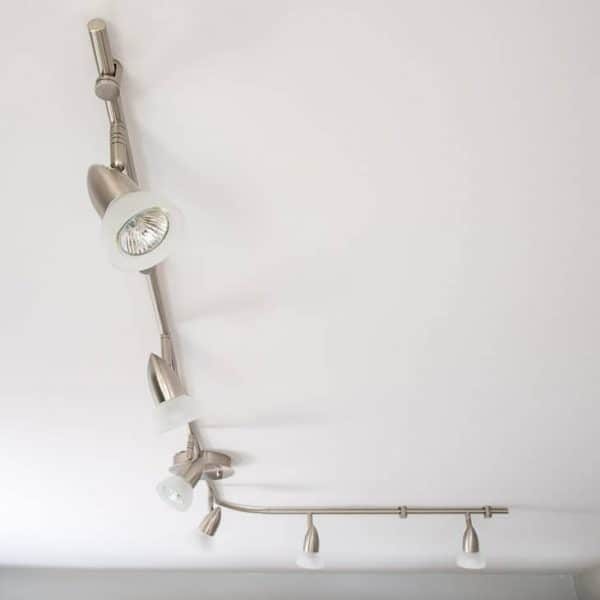 Need to update your kitchen track lighting? This tutorial shows you how!