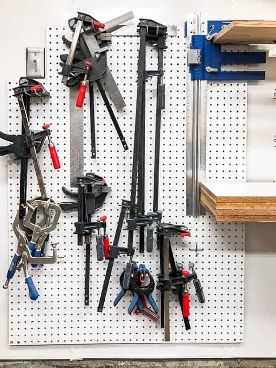 I seriously need to organize my clamps better!
