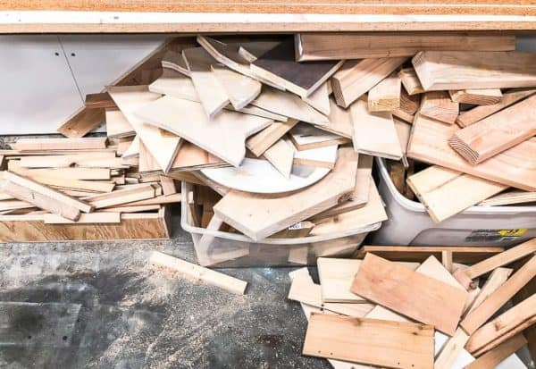Scrap wood is taking over the workshop! I need to find a way to sort scrap wood pieces and cull the ones I'll never use.