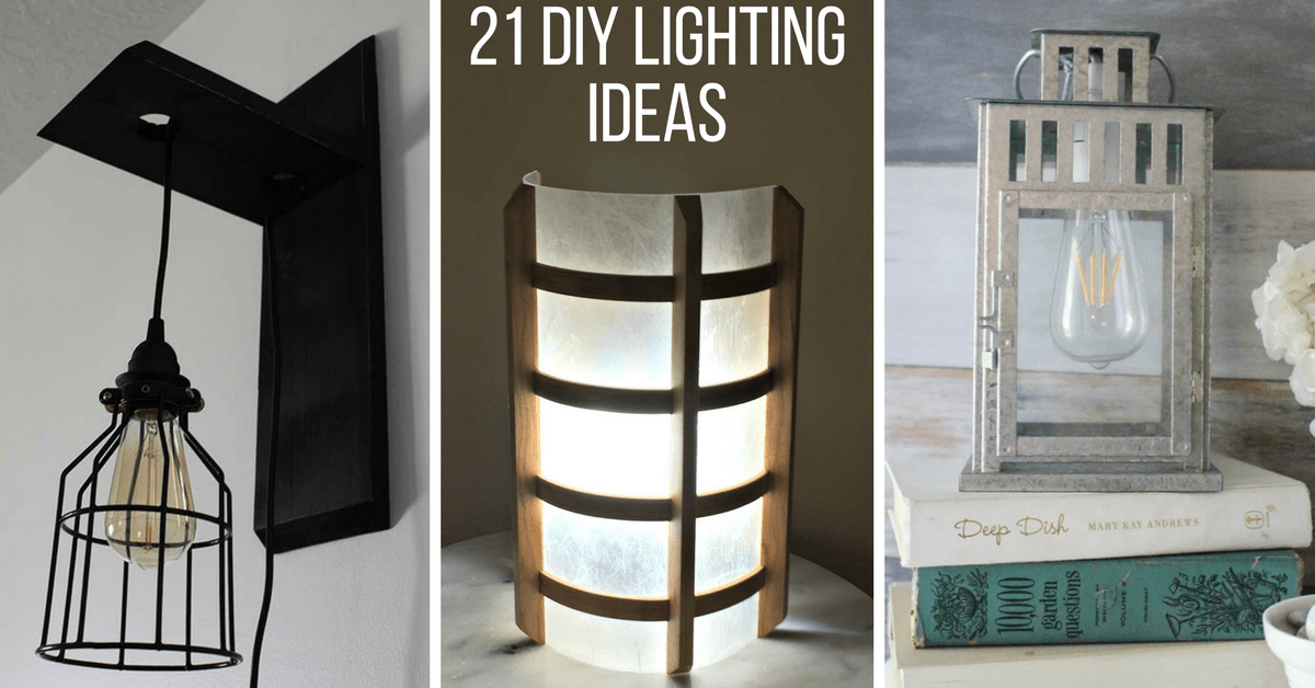 21 diy lighting ideas to brighten your home on a budget the handymans daughter