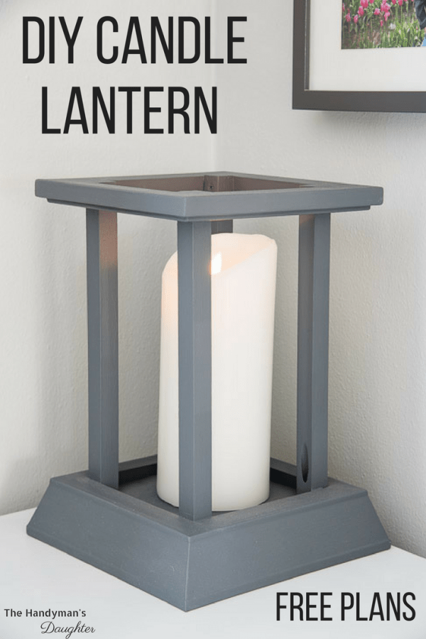 Diy Candle Lantern With Text Overlay