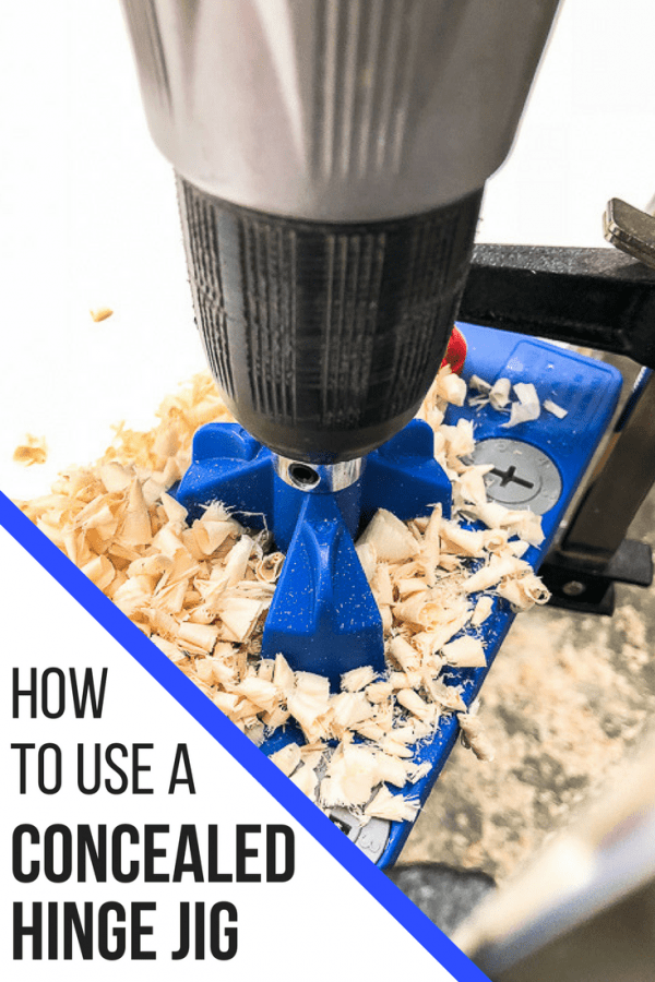 How to use a concealed hinge jig