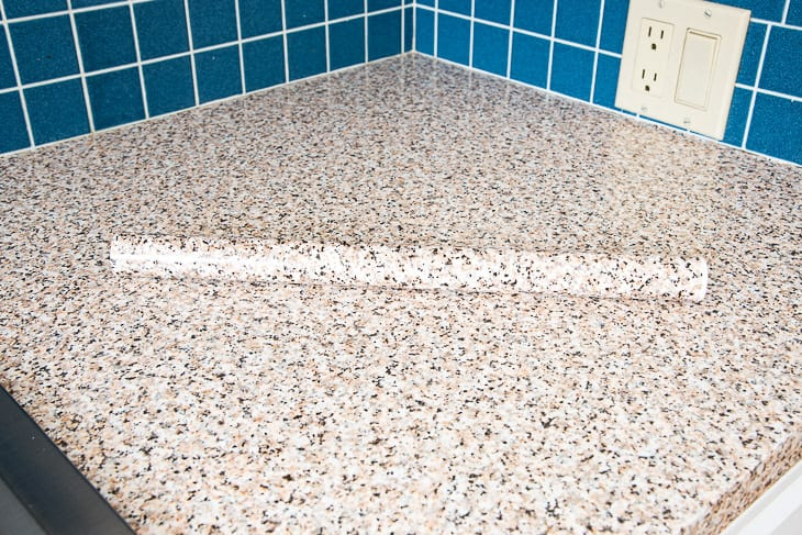 roll of countertop contact paper