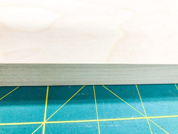 edge binding on plywood