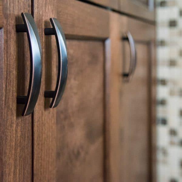 Liberty hardware door pulls on new cabinet doors