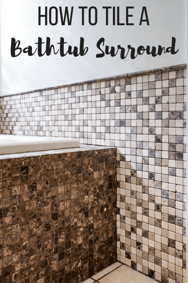 How To Tile A Bathtub Surround The Handymans Daughter