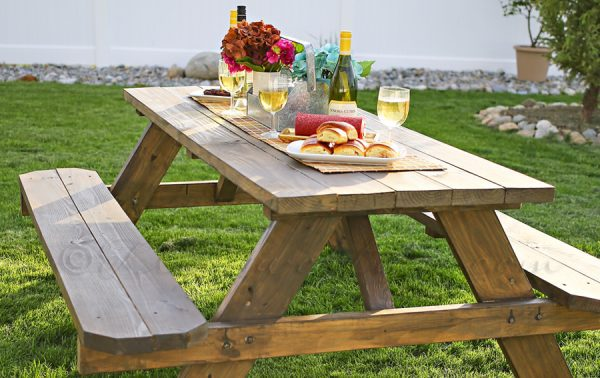 DIY picnic table kit