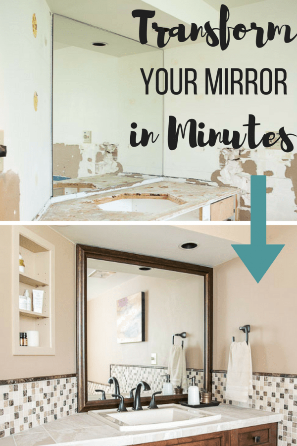 How to Create a Custom Framed Mirror in Minutes - The Handyman\'s ...