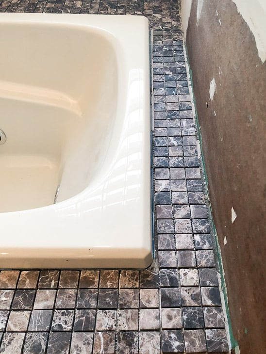 How to Tile a Bathtub Surround - The Handyman\'s Daughter