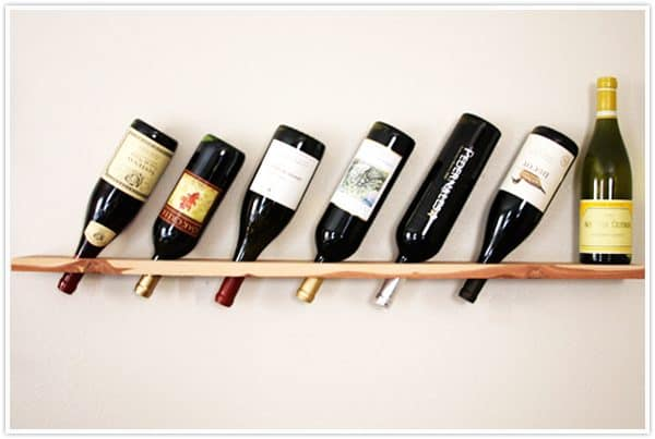 DIY wine rack ideas - Camille Styles