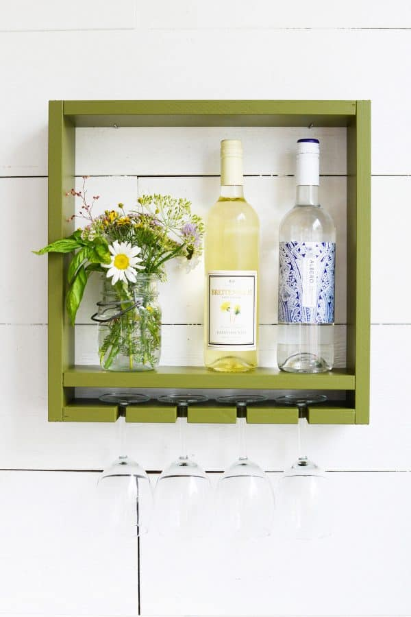 DIY wine rack ideas - Farm Fresh Therapy