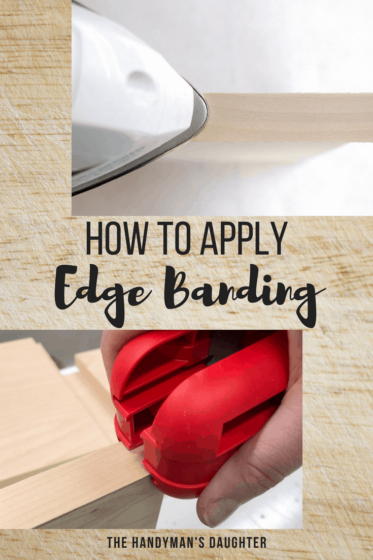 how to apply edge banding to plywood