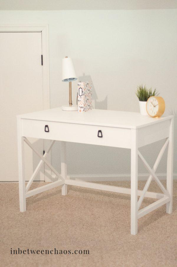 DIY desk plans - X leg desk