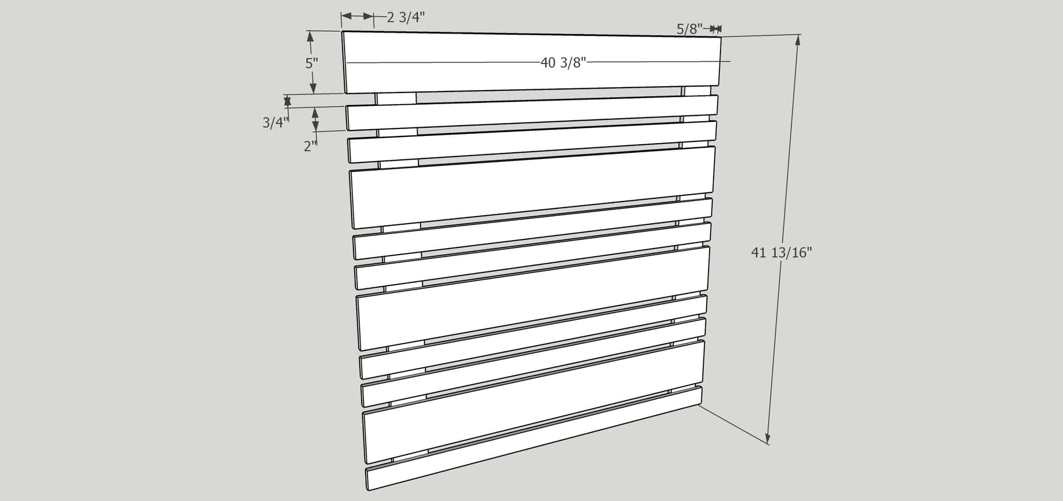 removable fence panel dimensions