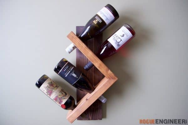 DIY wine rack ideas - Rogue Engineer