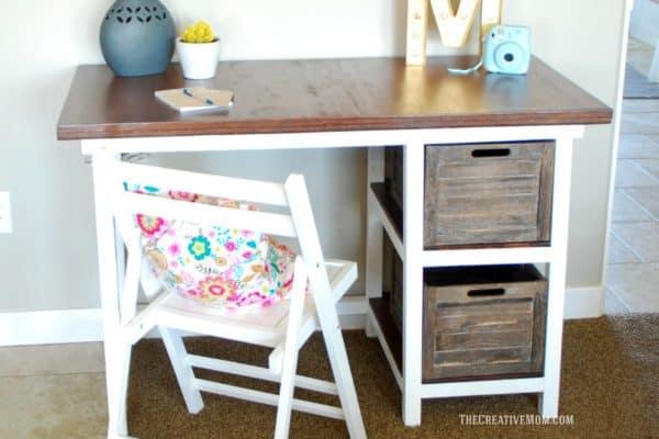 DIY desk plans - farmhouse desk