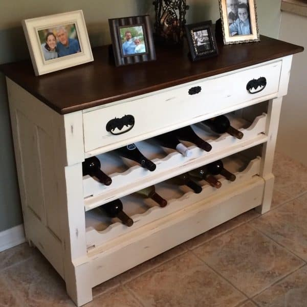 DIY wine rack ideas - The Happy Housewife