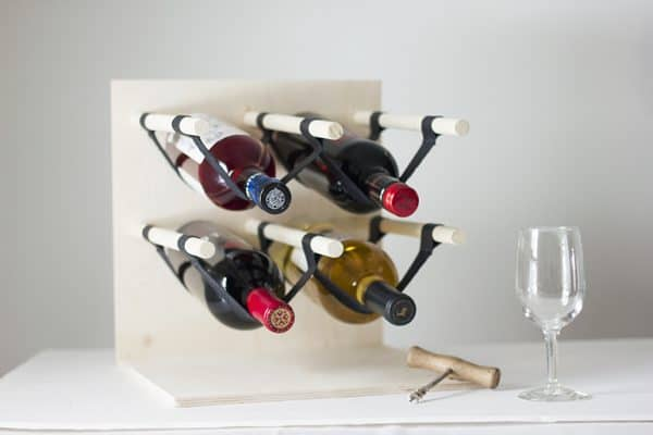 DIY wine rack ideas - The Merry Thought