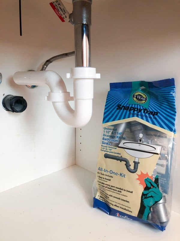 flexible waste pipe kit under sink