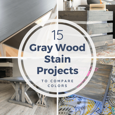 15 Grey Wood Stain Projects to Compare and Inspire