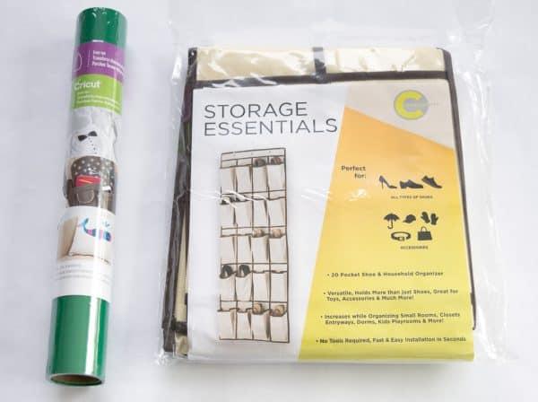materials needed for hanging garden tool organizer
